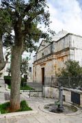 Church of Christ in Cisternino (Italy) - stock photo