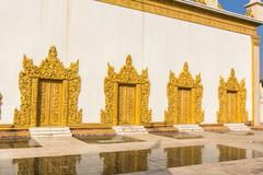 Shwe Yan Pyay Temple , Inle lake , Shan State , Myanmar Stock Photos