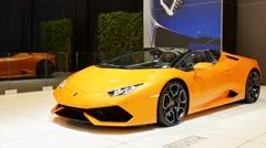 Lamborghini Huracán LP 610-4 Spyder Stock Footage
