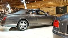 Bentley Mulsanne Speed Stock Footage