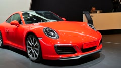 Porsche 911 Carrera S Stock Footage