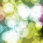 Bright vector background with bokeh effect. - stock illustration