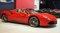 Ferrari 488 Spider Stock Footage