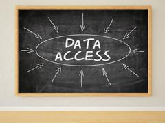 Data Access - stock illustration