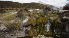 Mountains of Altiplano - stock footage