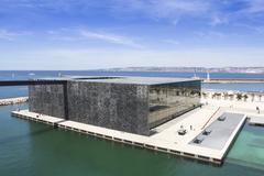 Marseille Museum of European and Mediterranean Civilizations - stock photo