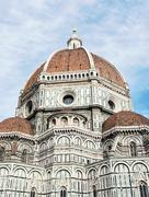 Beautiful Florence cathedral Santa Maria del Fiore, Italy, cultural heritage - stock photo