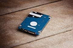 harddisk storage is storage data for computer - stock photo