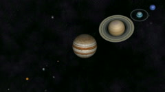 Solar System Stock Footage