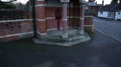 Queen Victoria memorial in the heart of England Stock Footage
