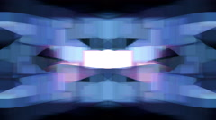 Cubic light forms flicker and shine - Video Background 2272 HD, 4K Stock Footage