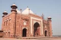 Humayun Tomb in Agra Stock Photos