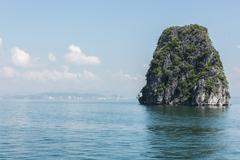 Tranquil Ha Long Bay Stock Photos