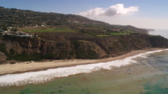 Along cliffs on the Southern California coast. Shot in 2010. Stock Footage