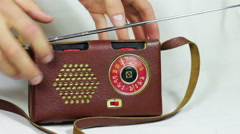 Old Radio Station Tuning Arkistovideo