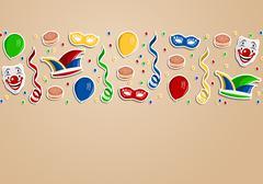 carnival background - stock illustration