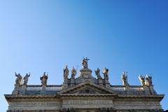 Archbasilica of St. John Lateran - stock photo