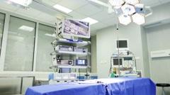 Operating Room. Tilt. - stock footage