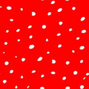 Red texture with irregular raw spots - stock illustration