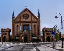 All Saints Church in Kornik , Poland - stock photo
