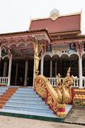 Pha That Luang Building Stock Photos