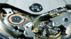 Automatic Watch Mechanism Stock Footage