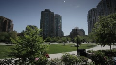 Emery Park in Vancouver Stock Footage