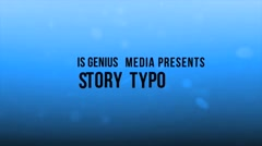 The Story Typo - stock after effects
