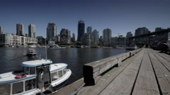 Granville Island Ferry Stock Footage