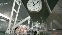 Airport scene Porto Airport Stock Footage