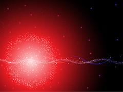 Star plasma background - stock illustration