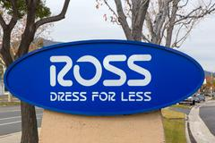 Ross Dress for Less Store Sign - stock photo