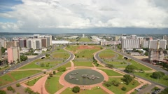 Brasilia city Stock Footage