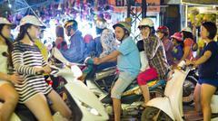 Stock Photo of HANOI, VIETNAM - MAY 2014: everyday life on street .