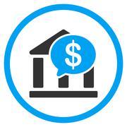 Bank Transaction Icon - stock illustration