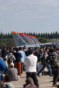 Japanese Self Defence Air show Stock Photos