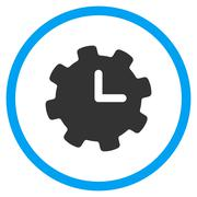 Stock Illustration of Time Configuration Icon