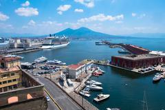 Naples,landscape, Italy - stock photo