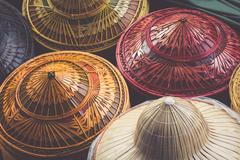 Damnoen Saduak floating market in Ratchaburi near Bangkok, Thailand Stock Photos