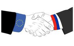 Russia and EU friendship Piirros