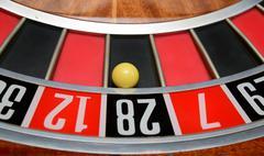 ball in number twenty eight - stock photo