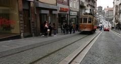 Stock Video Footage of Rua de 31 de Janeiro, Porto, Portugal