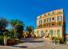 Sorrento, Italy. Sorrento is one of the most expensive resorts. beautiful view Stock Photos