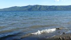 Laguna de Apoyo in Nicarague Stock Footage