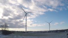 Renewable Energy Wind Power Stock Footage