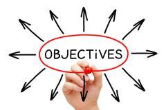 Objectives Arrows Concept - stock photo