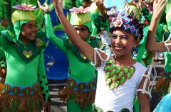 Stock Photo of Street Cultural Dancers
