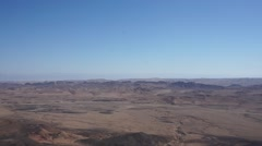 Ramon crater scenery Stock Footage