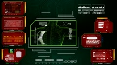 Foot  - Advanced Scanning Interface - red 01 Arkistovideo