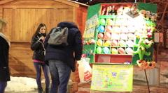 Park Shevchenko Kiev. Real Time/Time Lapse, Full HD Stock Footage
